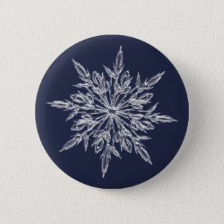 Snowflakes: winter is coming 2 inch round button