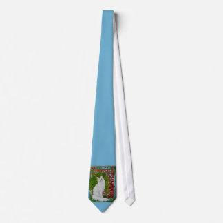Snowi's Garden Tie