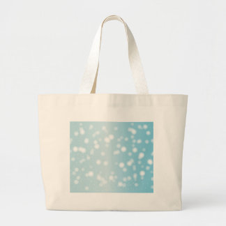 Snowing Banner Background Large Tote Bag