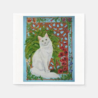 Snowi's Garden Paper Napkins