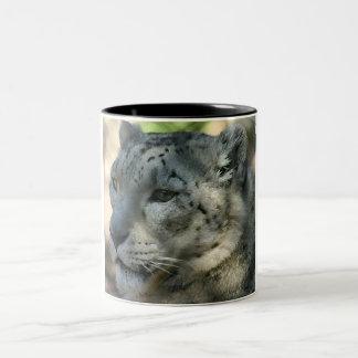 snowleopard Two-Tone coffee mug