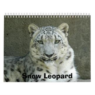 SnowLeopardM002, Snow Leopard Wall Calendar