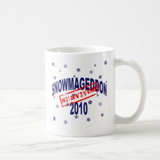 snowmageddon 2010 coffee mug