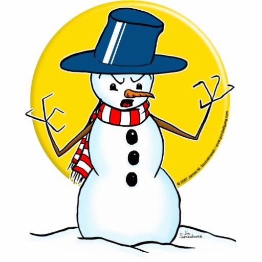snowman1 color cut outs