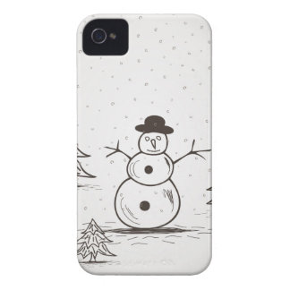 snowman2 Case-Mate iPhone 4 cases