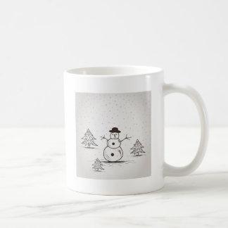 snowman2 coffee mug