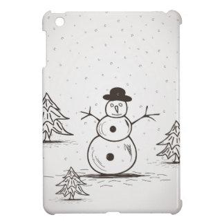 snowman2 iPad mini cases
