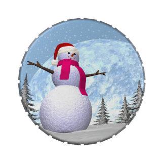 Snowman - 3D render