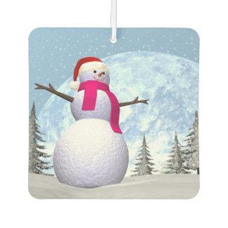 Snowman - 3D render Air Freshener