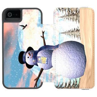 Snowman - 3D render Incipio Watson™ iPhone 5 Wallet Case