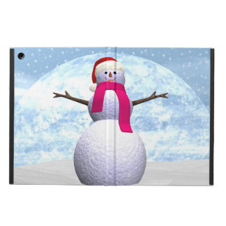 Snowman - 3D render iPad Air Case