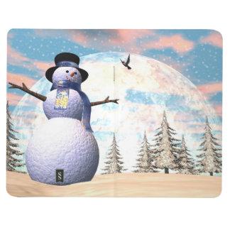 Snowman - 3D render Journal