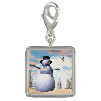 Snowman - 3D render Photo Charms