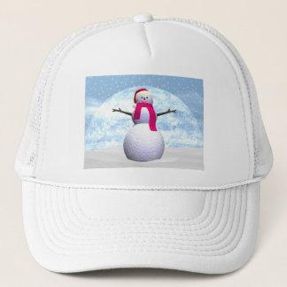 Snowman - 3D render Trucker Hat