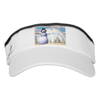 Snowman - 3D render Visor