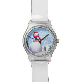Snowman - 3D render Watches