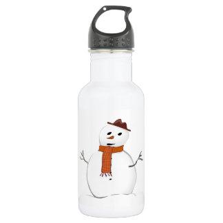 Snowman 532 Ml Water Bottle
