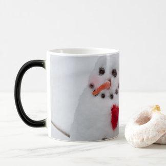 Snowman, A Cheerful Heart, Magic Mug