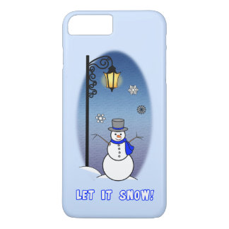 Snowman and Lamppost iPhone 7 Plus Case