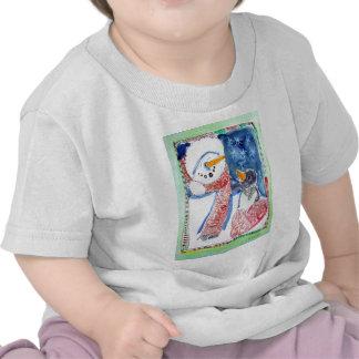 Snowman and Penguin Tee Shirt