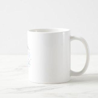 Snowman and Snowflakes Basic White Mug