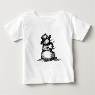Snowman Baby T-Shirt
