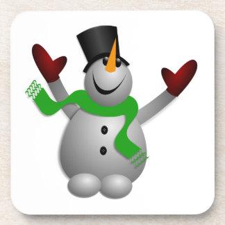 Snowman Beverage Coaster