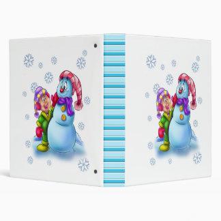 Snowman Binder