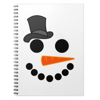 Snowman Boy Products Notebook