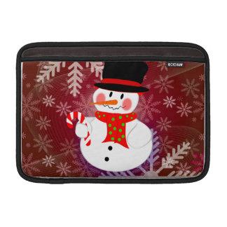 Snowman & Candycane MacBook Air Sleeve