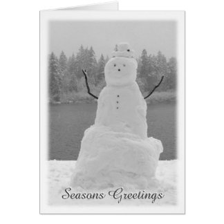 Snowman Cards Personalized Christmas Snowman Cards
