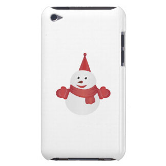 Snowman cartoon Case-Mate iPod touch case