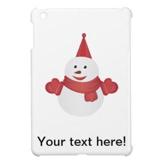 Snowman cartoon iPad mini cover