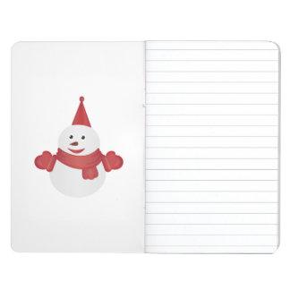 Snowman cartoon journals