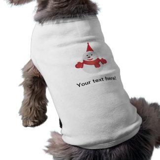 Snowman cartoon shirt