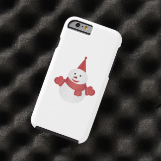 Snowman cartoon tough iPhone 6 case