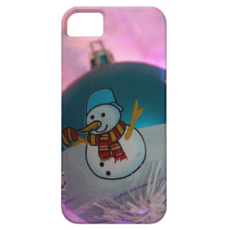 Snowman - christmas balls - merry christmas iPhone 5 case