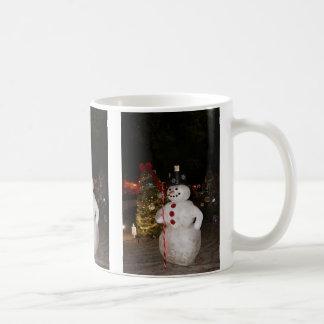 Snowman & Christmas Tree Mug