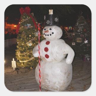 Snowman & Christmas Tree Stickers