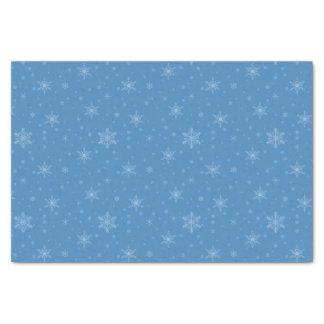 Snowman Cutout Snowflake Tissue Paper