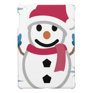 Snowman Drawing iPad Mini Case