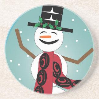 Snowman Drink Coasters