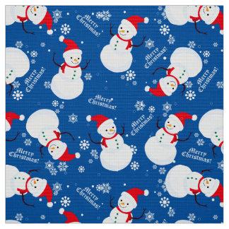 "Snowman fabric polyester poplin 60"" width"