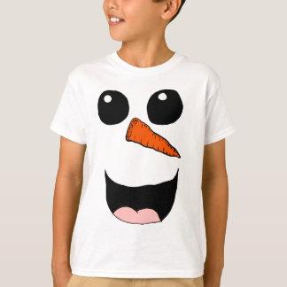 Snowman face 2 T-Shirt