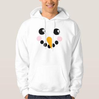 Snowman Face Hoodie