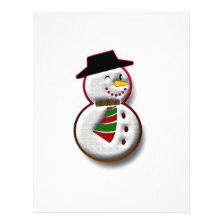 Snowman Full Colour Flyer