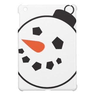 Snowman Globe iPad Mini Covers