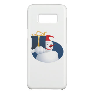 Snowman hands over gift... Case-Mate samsung galaxy s8 case