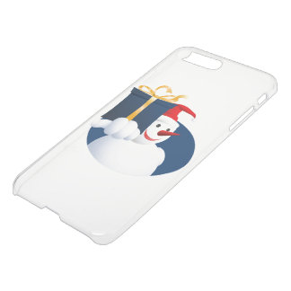 Snowman hands over gift... iPhone 8 plus/7 plus case
