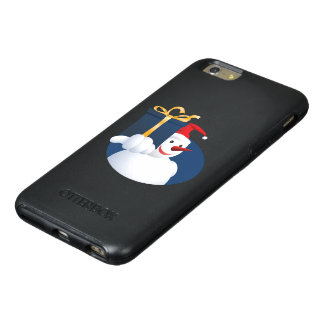 Snowman hands over gift... OtterBox iPhone 6/6s plus case